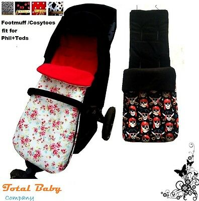 Footmuff /Cosytoes fit for Phil&teds/ most universal buggy - Single