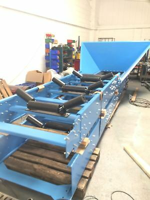 Picking conveyor brand new 1000mm wide belt x 10m long 6 bay picking belt