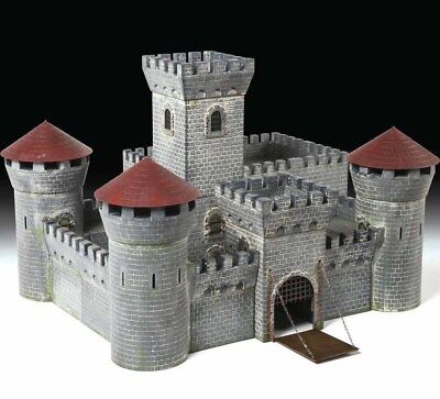 ZVEZDA 8512 1/72 Medieval Stone Castle MODEL KIT NEW