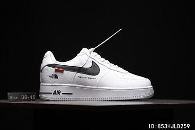 low priced e1268 5ff86 2018NIKE Air Force 1 AF1 Supreme Schwarz Whiteboard Schuhe!