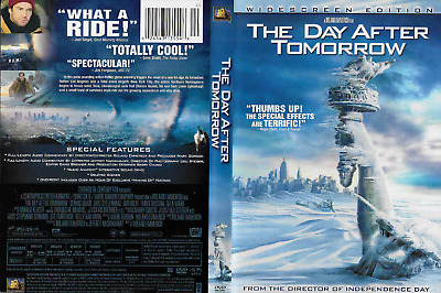 The Day After Tomorrow (DVD, 2004) Gyllenhaal Quaid 123 min Rated PG-13