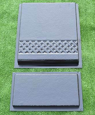 Set Stair and Riser Plate Mold Concrete Stepping Stone Mould #S16