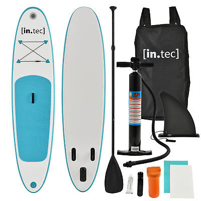 [in.tec]® Stand Up Paddle Board gonflable 305x71x10cm Turquoise