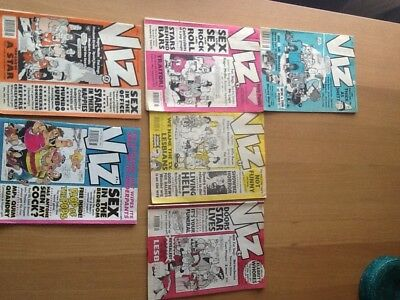 VIZ comics, 6 original issues. No's 38, 46,47,48, 56 & 65.