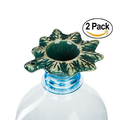 """2 in 1 Bukket Pipe Smoking Tobacco Filter """"Green Leaf"""" gravity bong accessory."""