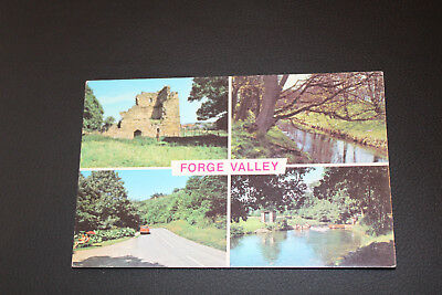 Postcard  Multiview Forge Valley Yorkshire
