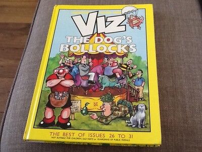 Viz adult comic book. The Dog's Bollocks. Best of issues 26-31.