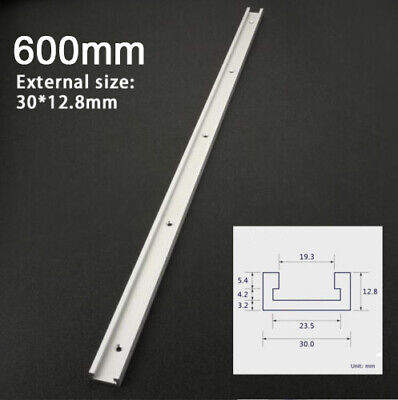 800mm T-slot T-tracks Miter Track Jig Fixture Slot Tool for Router Table
