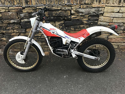 Aprilia Tx280 Acm Trials Bike Very Good Original Condition