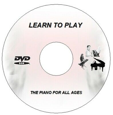 Learn How To Play Piano Keyboard Dvd Pc  - Lessons Video Guide Tutorial All Ages