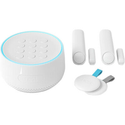 Brand New Nest Secure Home Security Alarm System Starter Pack - White (H1500ES)