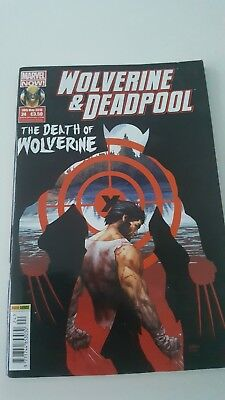 Marvel Wolverine And Deadpool, The death of Wolverine comic