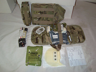 Us Military Issue Ifak Ii First Aid Kit With Tourniquet Multicam Contents Unused