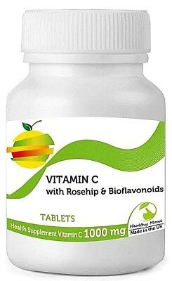 Vitamin C 1000mg with Rosehip Bioflavonoids 60 TABLETS