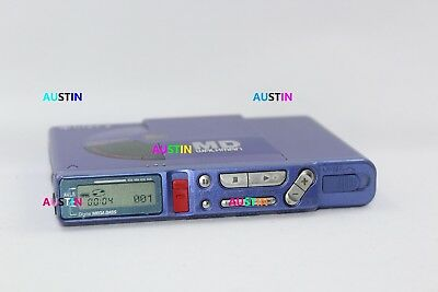 Sony Mz R37 Minidisc Player Recorder With Microphone