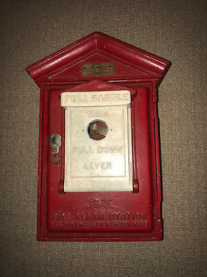 Vintage Gamewell Fire Alarm Station