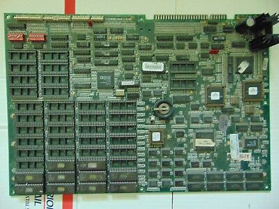 WWF Wrestlemania pcb incomplete and untested
