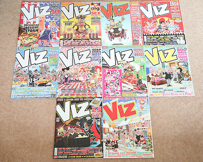 Viz Comic Collection 2017 - All 10 issues with FREE P&P (Issues 262-271)