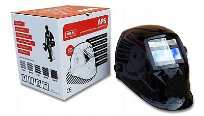 IDEAL APS 510 LCD Auto Darkening Welding Helmet Mask DIN 9-13 Grinding mode