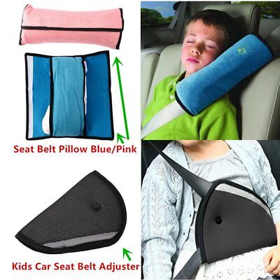 New Pro Children Car Safety Seat Belt Pillow Strap Soft Shoulder Pad Headrest IV
