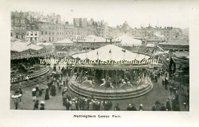 Nottingham Goose Fair 1898 - Fairground Photograph