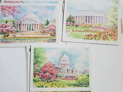 "A 1993 12 REPUBLICAN CONGRESSIONAL COMMITTEE ""NATIONAL CAPITAL COLLECTION"" Cards"