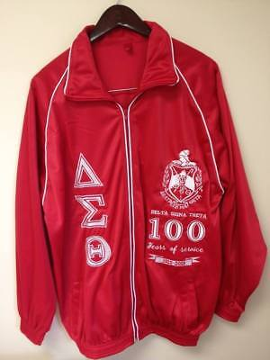"""New """"L Size"""" Superior Quality Delta Sigma Theta Upper/Jersey of Jogging Suit"""