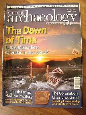 Current Archaeology Magazine Issue 283 October 2013: Dawn of Time:First calendar