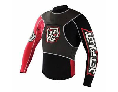 Yamaha Men's Apex Race Jacket Wetsuit by JetPilot RED FREE SHIPPING!!!!!!!!!!