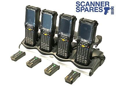LOT 4 x Symbol MC9090-GF0HBJGA2WR 1D Barcode Scanner CE 5 & Warranty Dock 5250