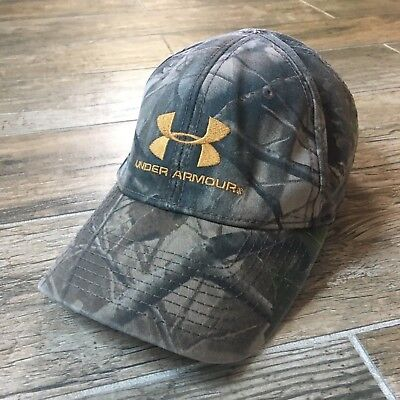 1263b9be556 ... shopping under armour mossy oak camo real tree strapback hunting  fishing cap hat 04d17 b0145