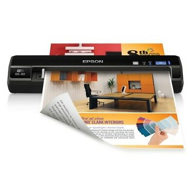 New  EPSON WorkForce DS40 Portable Scanner BWFDS40