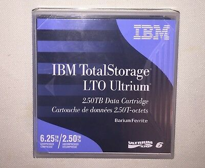 New  IBM DEMO IBM LTO6- 2.5/6.25TB DATA CARTRIDGE BDE-00V7590