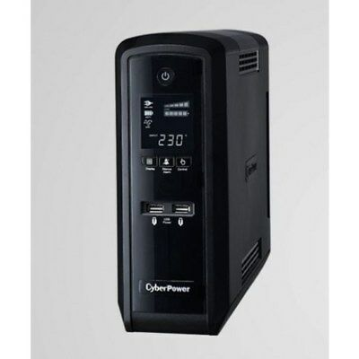 CyberPower PFC Sinewave Series 1500VA/900W (10A) Tower UPS with LCD and 6 x AU