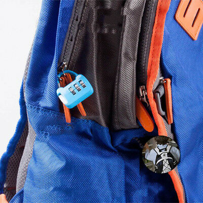 Combination Padlock Case Travel Bag Luggage Suitcase Safety Small Password Lock