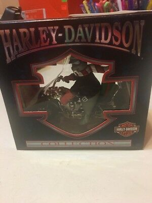 1999 Harley Davidson Collection Ornament North Pole Motorcycle Club