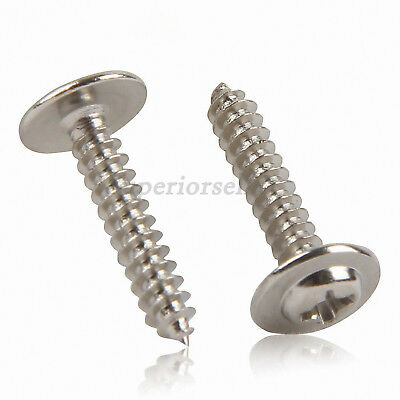 Phillips Modified Truss Head Sheet Metal Wood Self Tapping Screws - Ni Plated