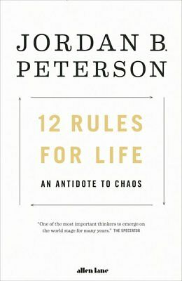 12 Rules for Life : An Antidote to Chaos by Jordan Peterson (2018, Paperback)