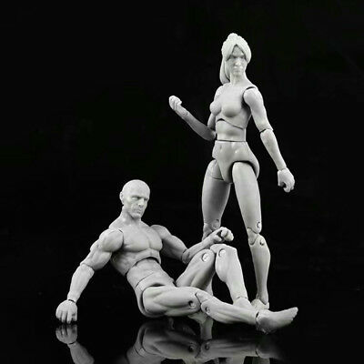 Male/Female PVC Action Figma Figure Model Body Toy For Cartoon Drawing Sketch