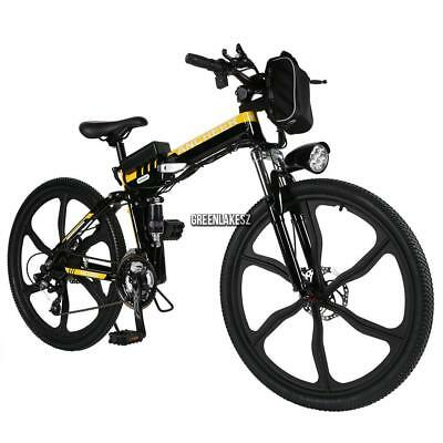 Addmotor Electric Mountain Bicycle Bike 48v 500w 26 Full Suspension