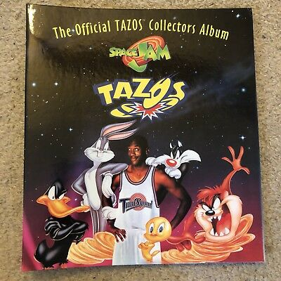 Space Jam Official Tazos Album - With Inserts