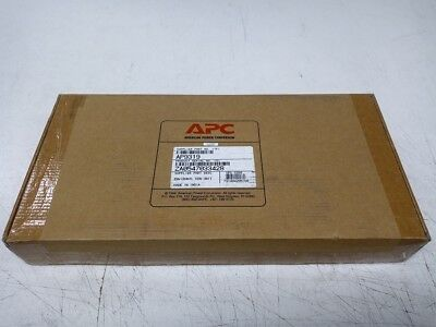APC AP9319 Environmental Monitoring Unit w/Terminators, Sensor, PSU, Bracket
