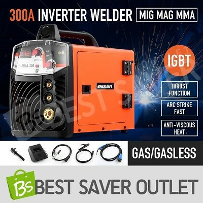ARC 300Amp Inverter Welder MIG / MAG / MMA DC IGBT Stick Welding Machine Tool