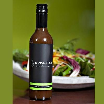Jamies Balsamic, Chilli and Honey Dressing. Gluten Free Gourmet Salad Dressing