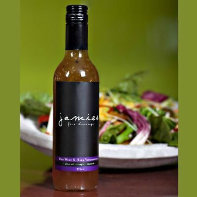 Jamies Red Wine and Herb Dressing. Gluten Free Gourmet Salad Dressing