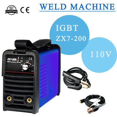ZX7-200 IGBT Household Welding Machine MMA ARC Stick DC Inverter 110V