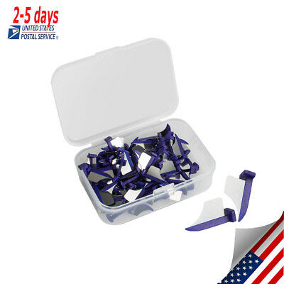 Dental Dentist fender wedge blade tooth Prep X-Small, purple, 100 pcs