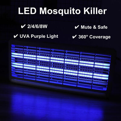 Electronic Outdoor UV Mosquito Control Lamp Insect Zapper Bug Pest Killer Light