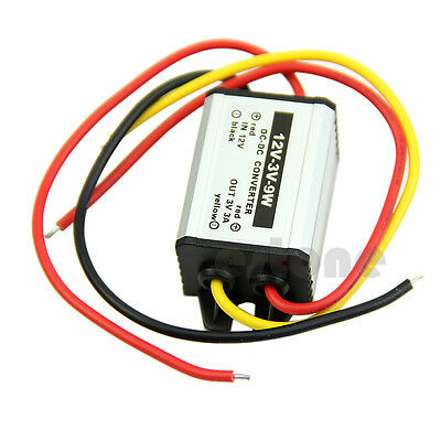 12V to 3/3.3/3.7/5/6/9V DC to DC buck Converter Waterproof Power Supply Module