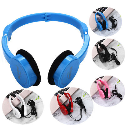 f2768c18395 Super Bass Stereo Headphones On Ear Foldable Headband Headset For Kids  Earphone